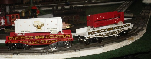 McCoy Circus Train Tent and Tent Pole Cars