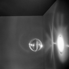 Light-Play (tomdebiec) Tags: light shadow museum washington holga toycamera eliasson olafur hirschhorn