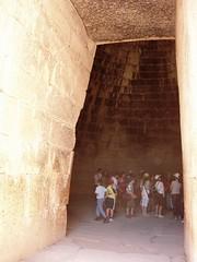 mycenae treasury lintel - by damiandude