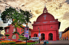 Christ Church, Malacca (#12) (Christopher Chan) Tags: travel church canon asia malaysia 1785mm tamron hdr melaka malacca 1k 30d interestingness60 i500 outstandingshots