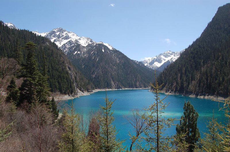 Long Lake, Jiuzhaigou, Sichuan, China
