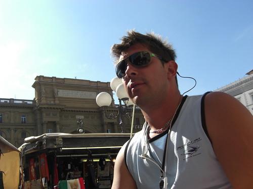 Claudio illustra piazza della repubblica