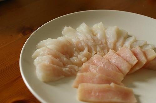 鱈魚旗魚片