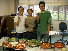 food festival @ dormitory (clodieinjapan) Tags: food festival dormitory