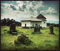 ancient graveyard (azem) Tags: grave graveyard canon eos ancient graves prizren azem empire kosova kosovo ottoman turks turkish 2007