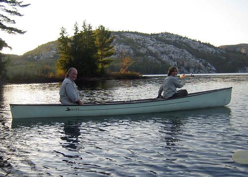 al and jane on killarney lake
