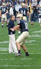 Brady Quinn in Action (D. Erin) Tags: bradyquinn