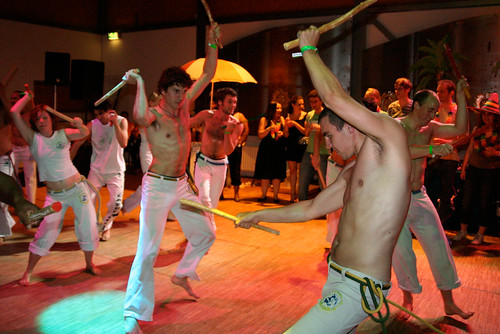 Capoeira Liberdade Performance Cultureel Centrum TUDelft