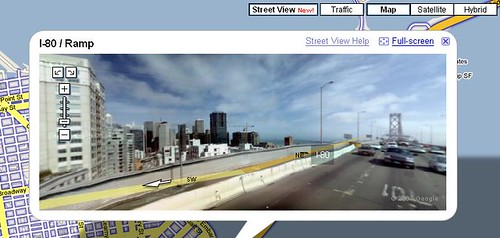 google maps street view voorbeeld san francisco