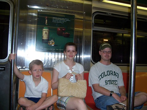 on subway