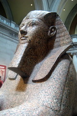 NYC - Metropolitan Museum of Art: Sphinx of Hatshepsut (wallyg) Tags: nyc newyorkcity ny newyork art sphinx museum nhl manhattan landmark ues egyptian gothamist artmuseum metropolitanmuseum themet uppereastside hatshepsut metropolitanmuseumofart museummile nationalhistoriclandmark nationalregisterofhistoricplaces usnationalhistoriclandmark nrhp aia150 usnationalregisterofhistoricplaces newyorkcitylandmarkspreservationcommission nyclpc sphinxofhatshepsut androsphinx