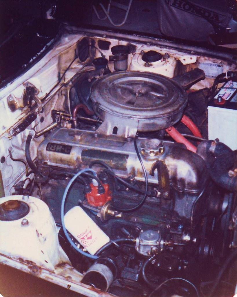 Toyota Celica 18R-C Engine