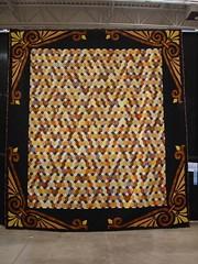 neutral losenge quilt