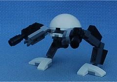 Chaser Battle Pod (Mantis.King) Tags: lego legogaming legomecha moc mechaton mobileframezero mfz mf0 microscale mecha mech battlepod scifi futuristic wargames walker