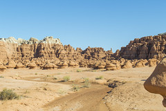 Goblin Valley - Still on Planet Earth (aaronrhawkins) Tags: goblinvalley state park utah hoodoo geology rock desert alien landscape cliffs formations strange wash mud unique thanksgiving aaronhawkins