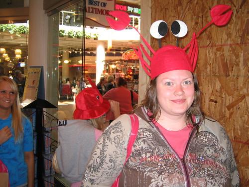 Crabby librarian