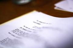 Scripts #2 (jakedavidrohde) Tags: meeting inprogress script talking storyboarding bublegum theprocess anodine tellingthestory