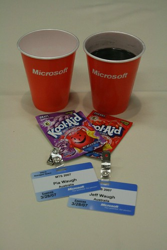 Microsoft - drinking the kool aid