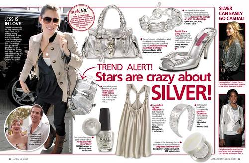 Fashion Silver 60 61