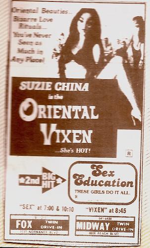 Oriental vixen