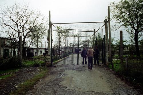 Bürrel prison gate