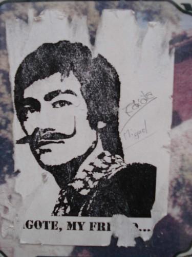 Póster de Bruce Lee con bigote