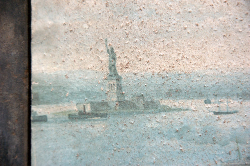 Statue of Liberty, New York Dock Company lithograph, Circa 1911