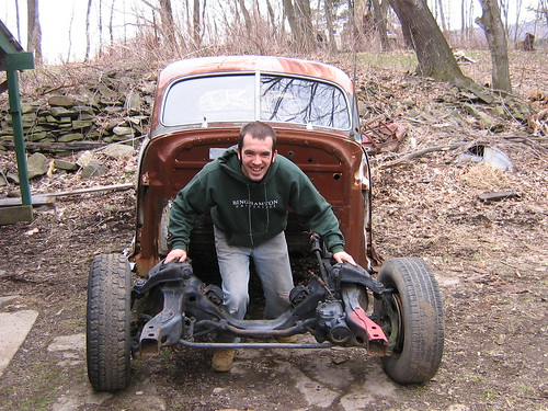 Fred Flintstone powered Chevrolet