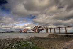 Painting the Forth (Nuno R.) Tags: bridge colour scotland europe roadtrip canon350d handheld soe hdr queensferry riverforth forthrailbridge sigma1020mm 3xp nuno