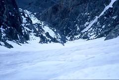 Steve and Don (Dru!) Tags: snow canada mountains ice bc britishcolumbia climbing alpine neve mountaineering lookingdown iceclimbing couloir waterice climbers alpinism coastmountains alpinist alpinists paymaster stemalot iceclimb firstascent donserl stevenharng cadwalladerrange crazymountain