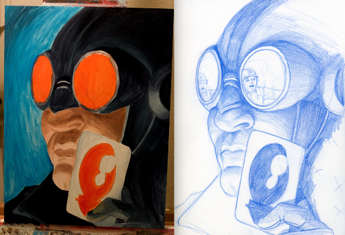 Lobster Johnson In-Progress