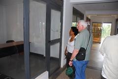 Evie's new OTA office in Fort Portal