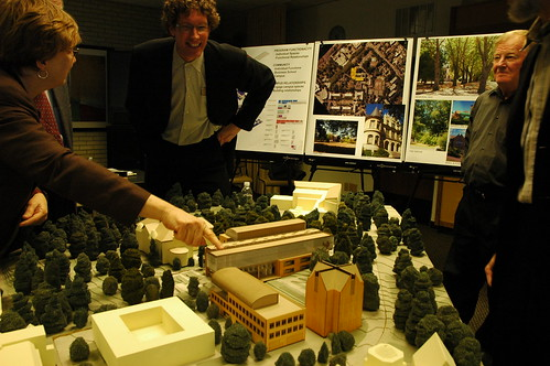 UW Architectural Commission, Model of the new School of Business