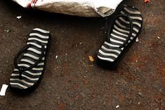 10 Zebra Sandals