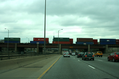On the Eisenhower Expressway