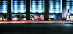 Air Canada (matthewcxlangford) Tags: longexposure toronto cars square lights panoramic arena nightshots baystreet ue aircanada lighttrail aircanadacentre blogto torontoatnight 1on1nightshotsphotooftheday diamondclassphotographer flickrdiamond 1on1nightshotsphotoofthedayapril2007