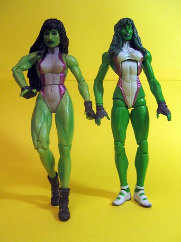 Marvel Select and Marvel Legends She-Hulk