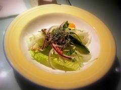 鯷魚薄荷油醋沙拉