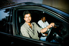 vijay in his black bmw (phitar) Tags: vijay india film hero superstar chennai tamil kollywood avm moviestudio voyagekerala