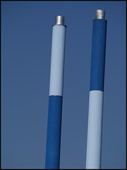 Up in Blue Smoke (Kirsten M Lentoft) Tags: blue chimney sky denmark albertslund momse2600 wowiekazowie kirstenmlentoft