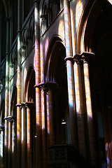 when cathedrals were painted... - by christing-O-