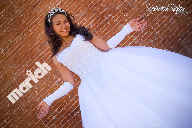 Mariah Quinceanera Pre Shoot 2 (with dress)