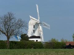Saxtead Green Post Mill (daveyboyhill) Tags: green mill suffolk post englishheritage saxtead
