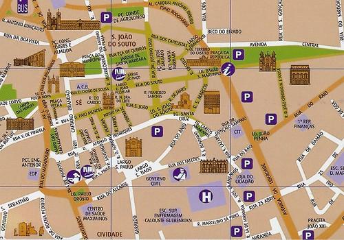 braga mapa cidade Braga e os Cimélios de Braun & Hogenberg   Blog da Rua Nove braga mapa cidade