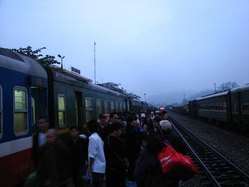 arrival in sapa