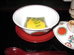 京都 菊乃井・露庵 よもぎ豆腐