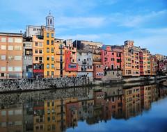 Girona Reflections (NatashaP) Tags: reflection river spain nikon grandmother catalonia girona explore catalunya catalua peopleschoice bigmomma interestingness7 d40 challengeyouwinner onyarriver gickr photofaceoffwinner photofaceoffplatinum vividmasters artlegacy pfogold