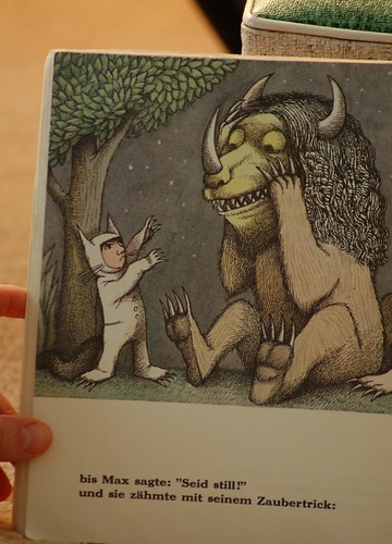 libro de Where The Wild Things Are