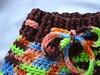 Crocheted Wool Soaker/Shorties w/ BFL (med/lrg)
