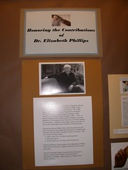 Dr. Elizabeth Phillips  exhibit